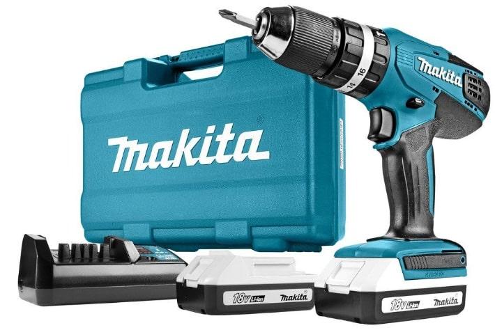 Kit taladro Makita HP457DWE