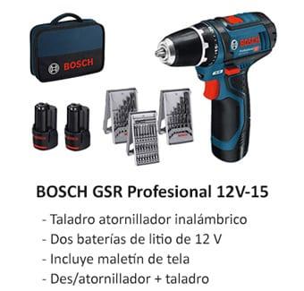 Taladro atornillador Bosch profesional Amazon
