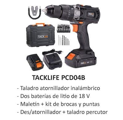 Tacklife PCD04B taladro atornillador Amazon