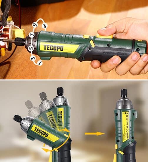 Atornillador a batería Teccpo