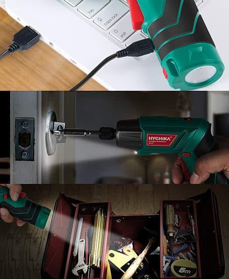 Destornillador a batería Hychika