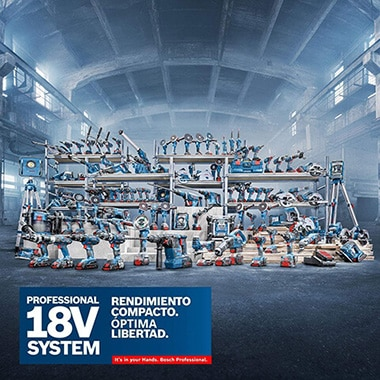 Taladro percutor de batería Bosch GSB 18V