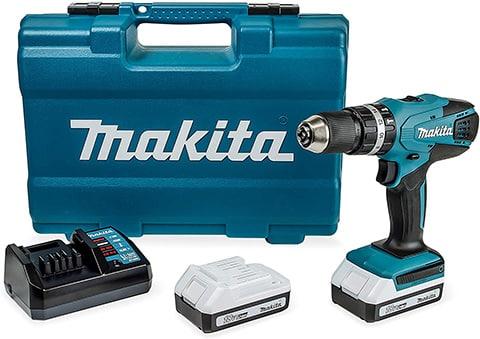 Taladro percutor de batería Makita HP457