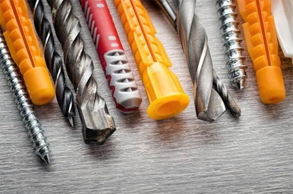 Brocas y tacos: cuál utilizar según el material