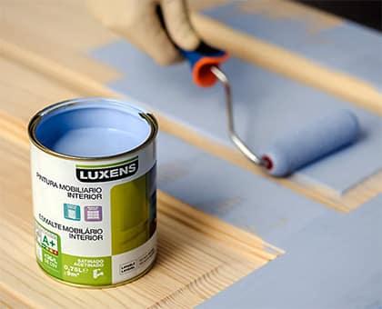 pintura para muebles de madera
